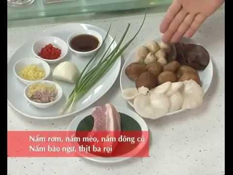 Cách Làm Món ~Thịt Bò Xào Nấm -http://foodsafety.com.vn/