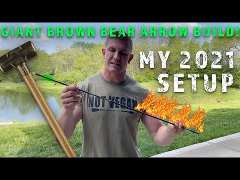 MY BROWN BEAR ARROW BUILD! This Will Do Some Damage! | Bowmar Bowhunting |
