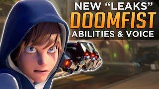 Overwatch: DOOMFIST Abilities & Mei Cinematic