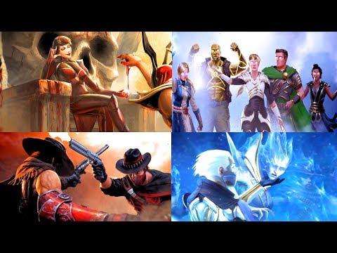 Mortal Kombat 11 All Endings with Italian  - MK11 Tutti i finali