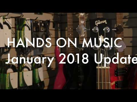 Hands on Music Update Jan 2018