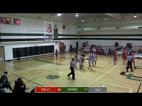 Clarendon College -vs- New Mexico Junior College, Men's basketball