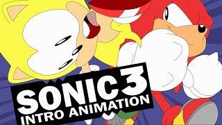Sonic 3 Intro Animada Super Sonic X Knuckles