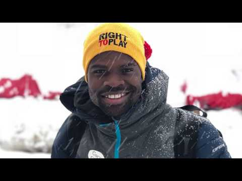 Ghana skeleton athlete Akwasi Frimpong preparing for 2018 Winter Olympics
