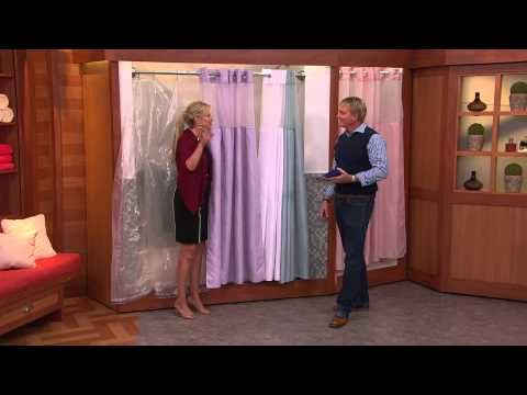 Hookless Diamond Pique 3 in 1 Shower Curtain with Rick Domeier