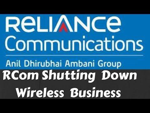 RCom To Shut Down Wireless Business | Telecom India | Jio Effect