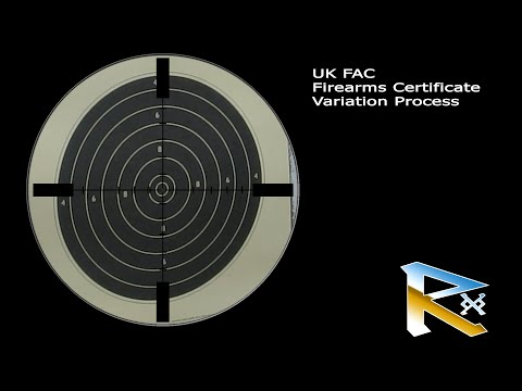 UK FAC Firearms Certificate Variation Process