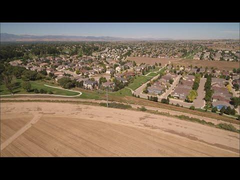 Longmont, CO drone footage