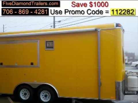 New Mobile Catering Trailers For Sale
