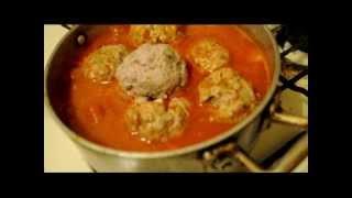Como Hacer Albóndigas En Salsa De Chipotle / How To Make Meatballs