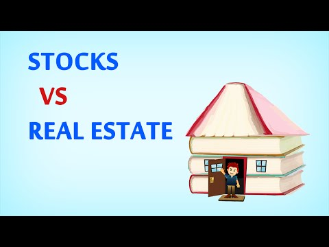 STOCKS VS. REAL ESTATE – Which has a better Return on Investment?