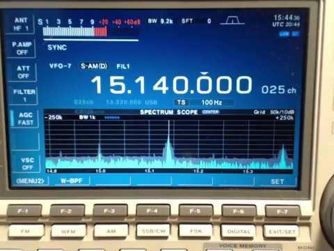 Radio Havana Cuba DXers Unlimited Jan 17 2017 on Shortwave radio 15140Khz