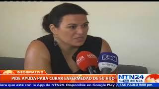 Española conmueve las redes sociales luego de pedir ayuda para su hijo que padece extraña enfermedad