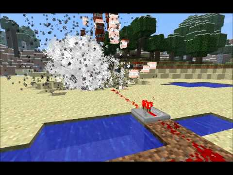Minecraft: Blowing A Giant Hole In The Ground