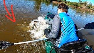 NUNCA SUBESTIME A FORÇA DE UM GIGANTE! Pescaria.