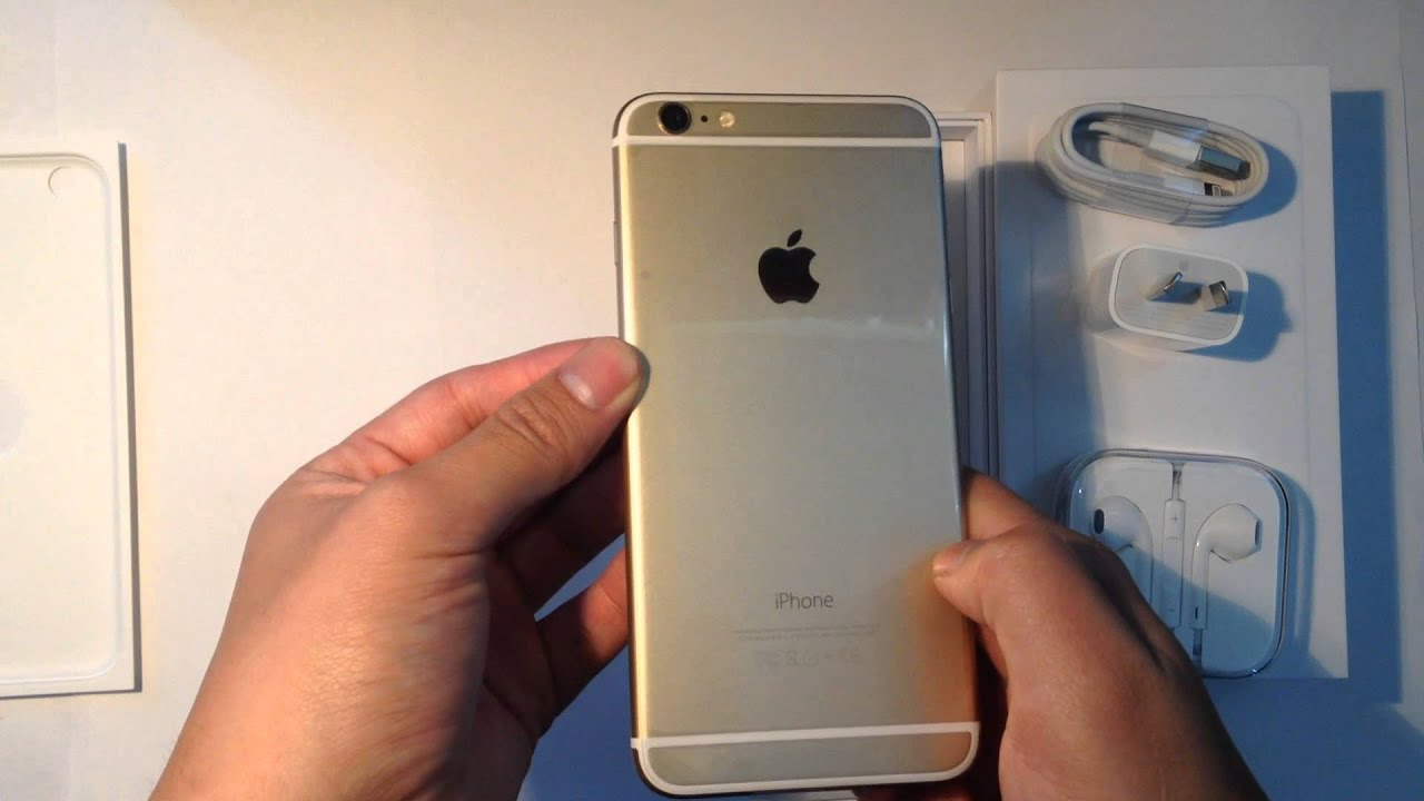 apple iphone 6 plus gold 128gb unboxing and iphone 5. Black Bedroom Furniture Sets. Home Design Ideas