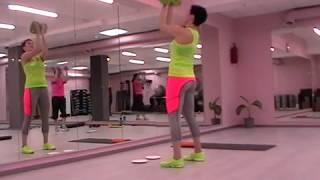 Упражнения для верхней части: плечи+ спина. Семинар  SFC/ Обучение фитнес инструкторов, Москва.