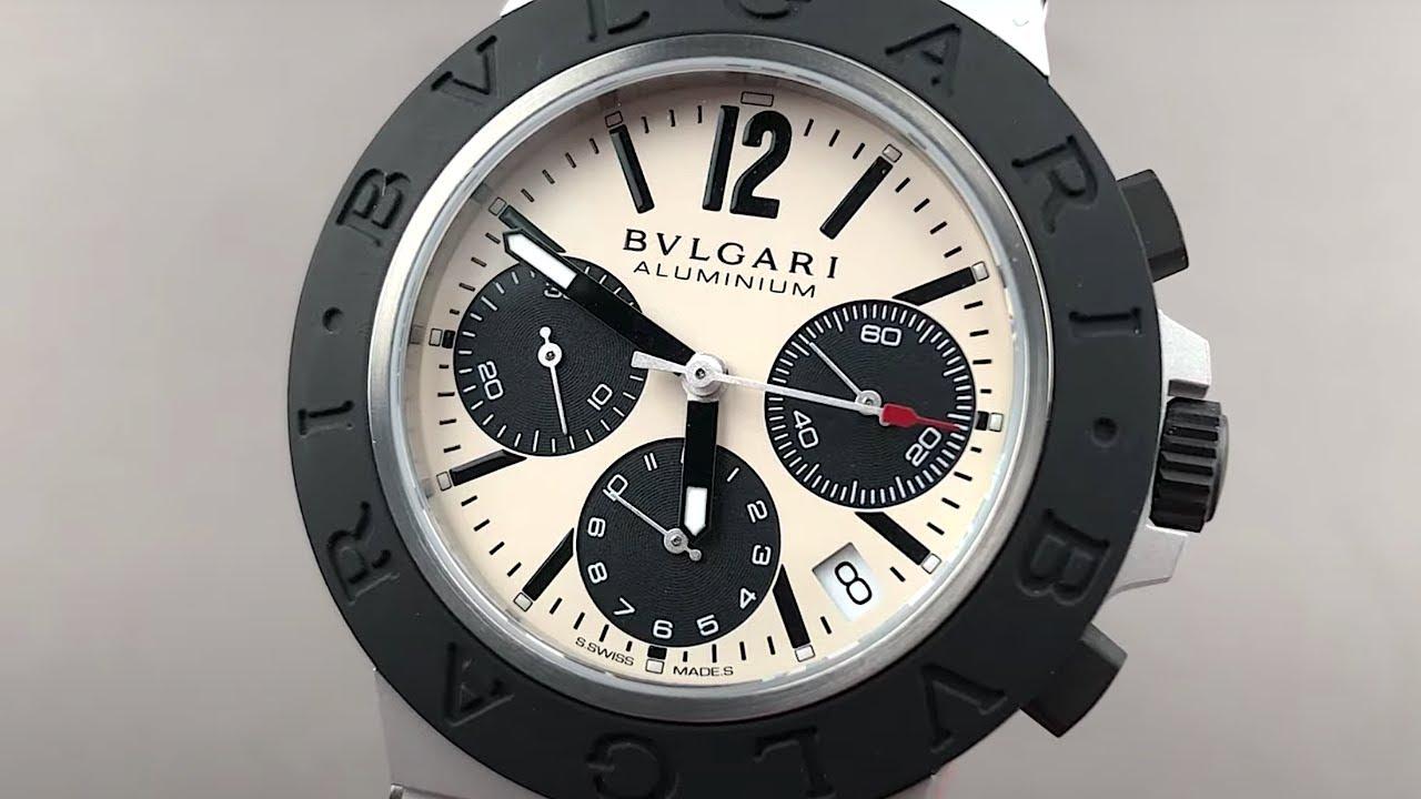 Bulgari Aluminium Chronograph 103383 Bulgari Watch Review