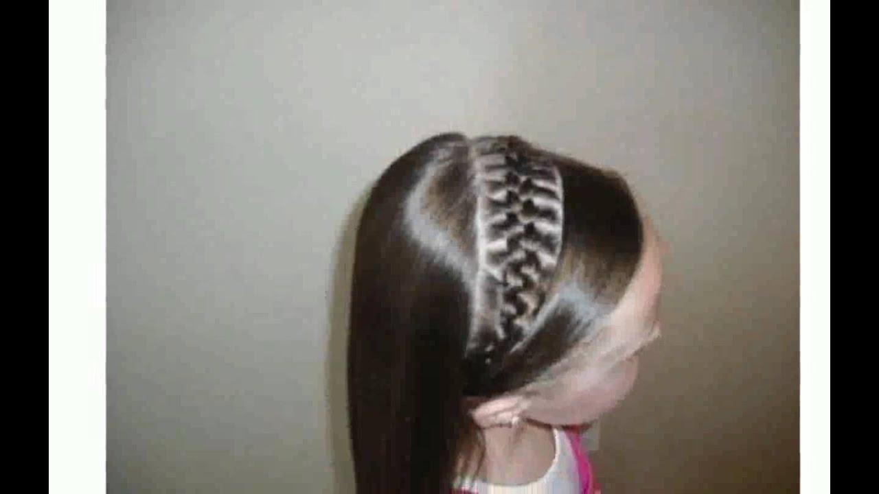 Peinados faciles para chicas youtube - Peinados para chicas ...