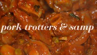Pork Trotters and Samp    Zandi M