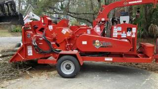Morbark M18R Chipper Demonstration