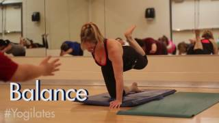 This fuzion class incorporates strength, flexibility and relaxation techniques with movements from both yoga pilates. for more group fitness classes, vis...