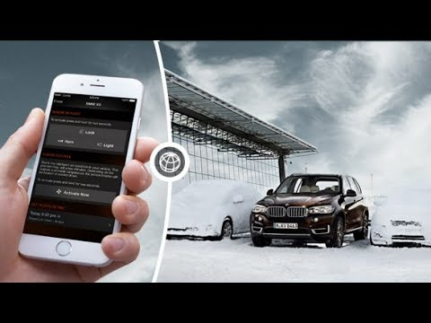 connecteddrive bmw connected app for iphone youtube. Black Bedroom Furniture Sets. Home Design Ideas