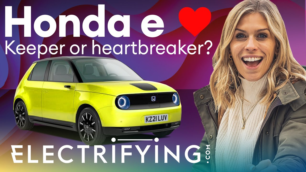 Honda e 2021 review: Keeper or heartbreaker? In-depth review with Nicki Shields / Electrifying