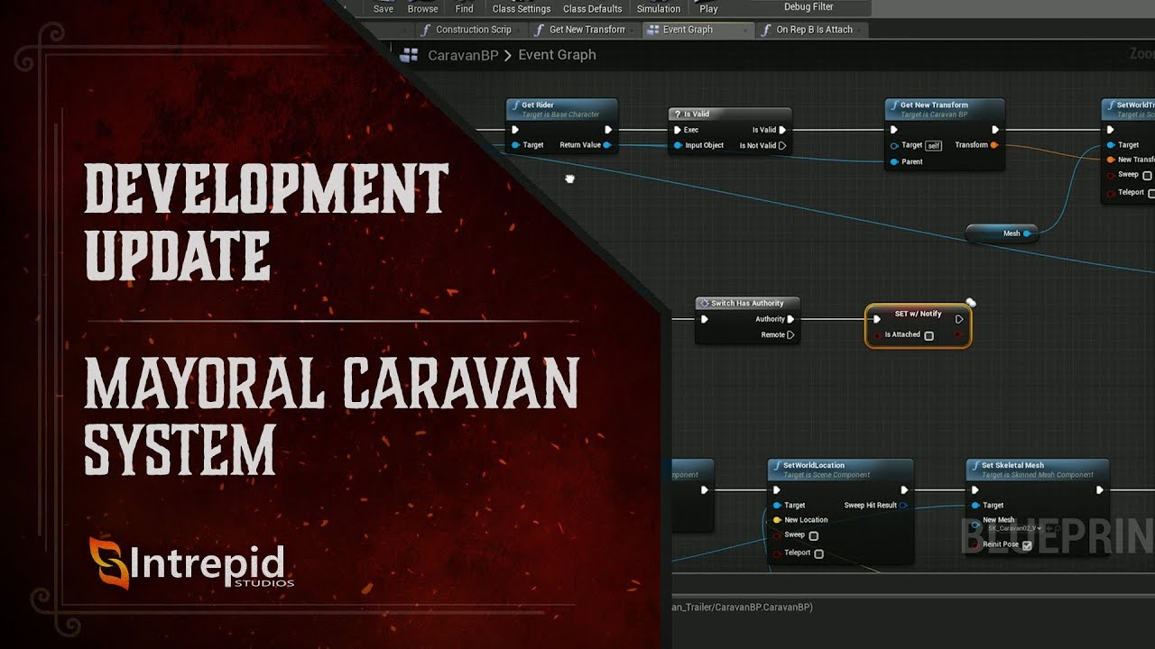 Ashes of Creation - Mayoral Caravan System - Work in Progress