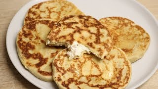 NAAN AU FROMAGE FACILE (CUISINERAPIDE)