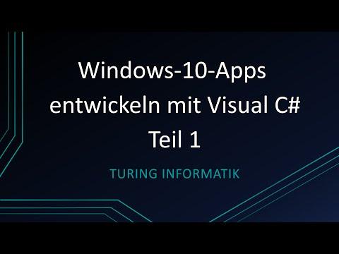 windows-10-universal-apps-entwickeln-mit-c#---teil-1