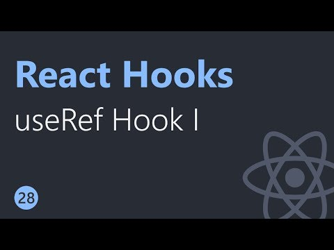 React Hooks Tutorial - 28 - useRef Hook Part 1 thumbnail
