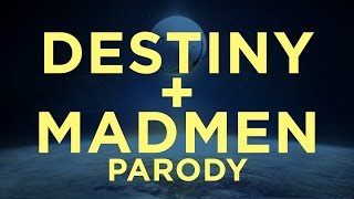 destiny year one recap by don draper of mad men parody