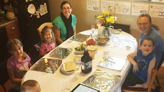 Our First Family Passover Celebration!