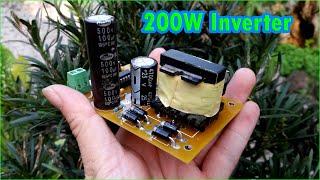 Powerful 200W inverter 12V to 220V Simple inverter using SG3525