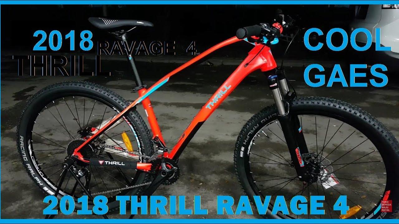 Toko Sepeda Majuroyal Review Thrill Ravage 4 Terbaru