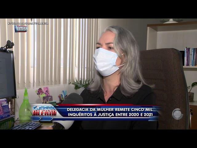 Delegacia da Mulher remete 5 mil inquéritos à justiça entre 2020 e 2021
