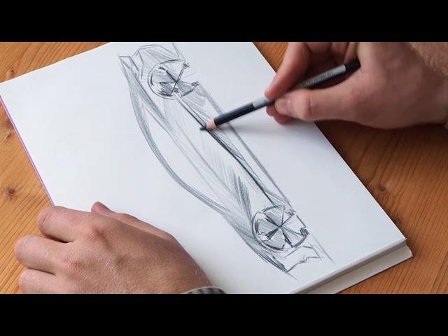 Bmw Zeichnen So Skizzieren Sie Ihr Traumauto Bmw Com