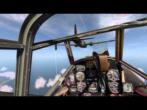 IL-2 Sturmovik: Cliffs of Dover - interception of Wellingtons goes wrong