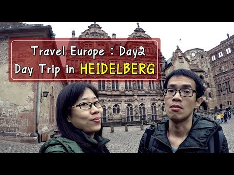 [รีวิวเที่ยว] Travel Europe 2016 Day2 : Day Trip in Heidelberg (from Frankfurt)