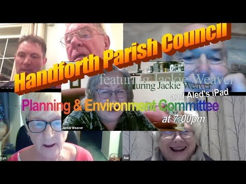 The Prequel To The Extraordinary Meeting Of The Handforth Parish Council, Feat. Jackie Weaver
