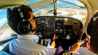 FLYING OVER ATHENS CITY! Piper PA28 Warrior III ATHENS FLYOVER - ATC Comms!