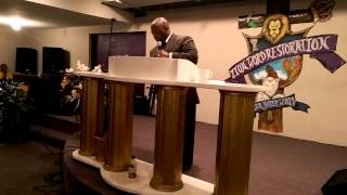 Pastor Derrick Hutchins Don't Waste Your Pain Pt 5