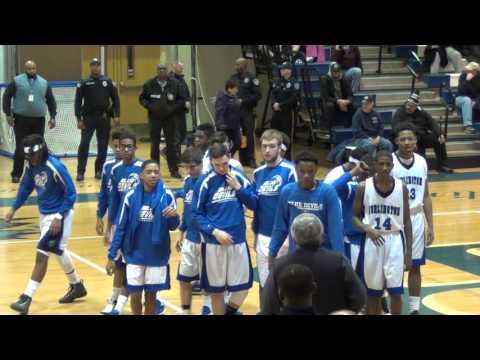 Varsity Basketball Burlington City vs Bordentown