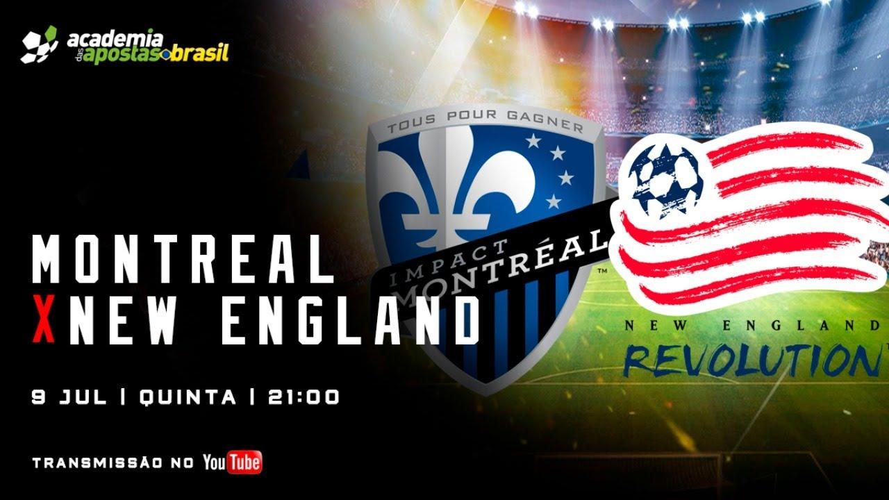 Montreal Impact vs New England Ao Vivo - MLS /Acompanhamento