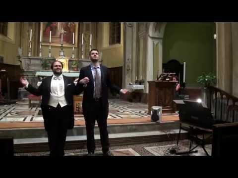 tenore matteo bertarelli concerto chiesa S. Germano Tollegno recondita armonia - e lucevan le stelle