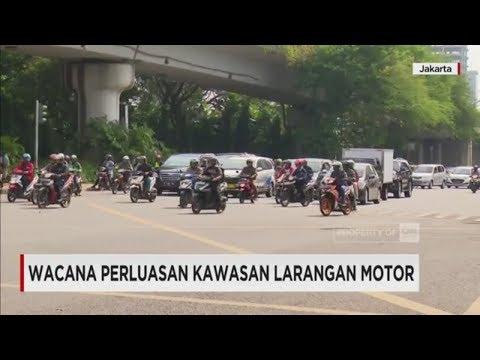 Wacana Perluasan Kawasan Larangan Motor di Beberapa Area Jakarta