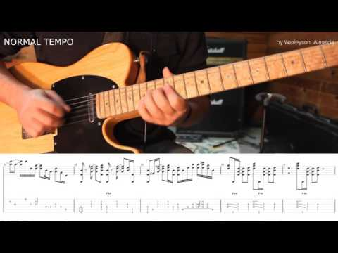 HOW TO PLAY  - Tender Surrender - STEVE VAI by Warleyson Almeida