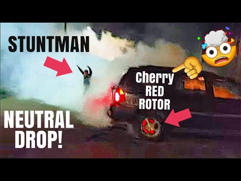 NEUTRAL DROP! 2004 GMC Envoy Insane Burnout! Enjoy
