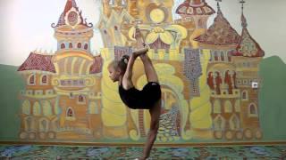 Художественная гимнастика №4. Прямой захват.